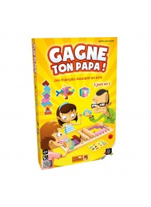 Boite du jeu GAGNE TON PAPA