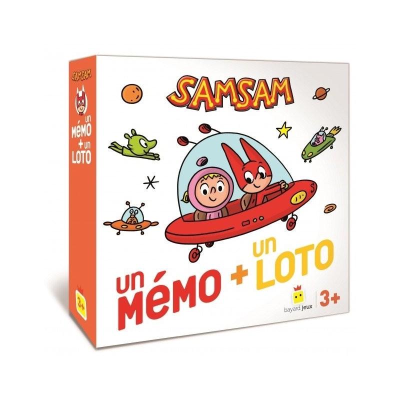 Boite du jeu SAMSAM