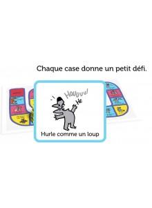 LOU LE LOUP LA COURSE AUX BISOUS DETAIL