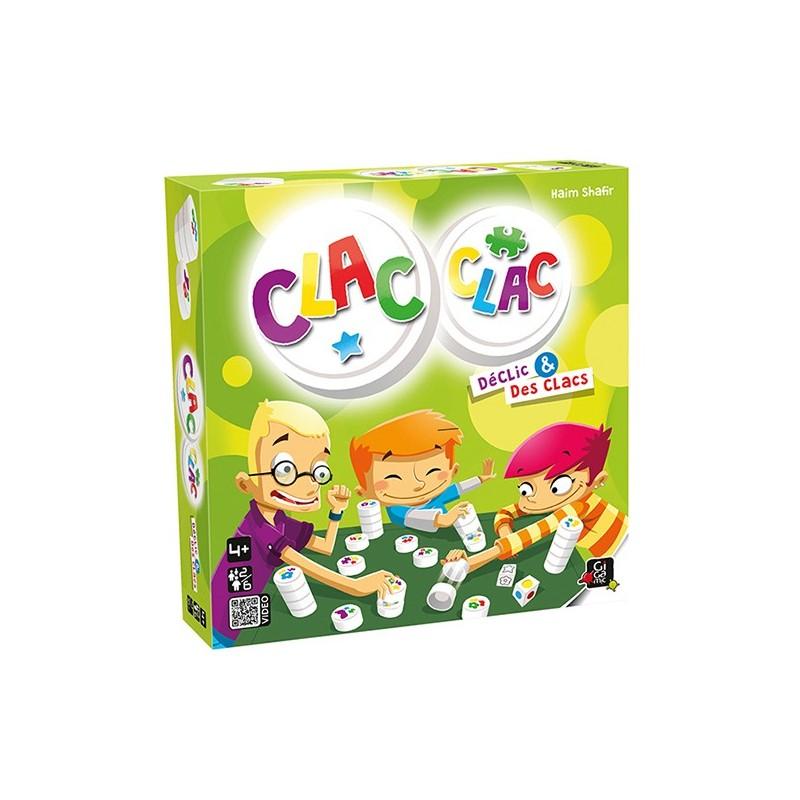 CLAC CLAC Boite du jeu